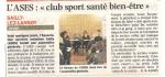 CLUB SPORTS SANTE BIEN ËTRE
